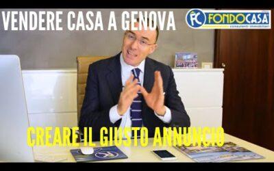 VENDERE CASA A GENOVA ? **Ecco come creare un annuncio veramente efficace per vendere casa a Genova